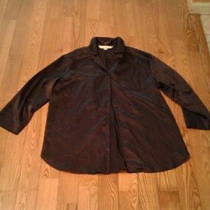 Victoria's Secret Vintage Silk Black Sleep Shirt